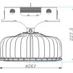 画像:HC150UA-P2NC1製品寸法